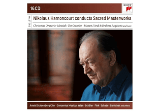 Nikolaus Harnoncourt - Nikolaus Harnoncourt Conducts Sacred Masterworks  - (CD)