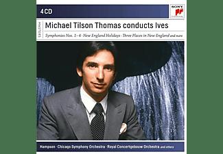 Michael Tilson Thomas - Michael Tilson Thomas Conducts Ives  - (CD)