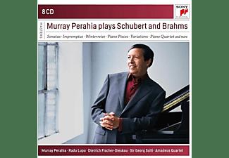 Perahia Murray - Murray Perahia Plays Brahms and Schubert  - (CD)
