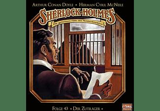 Holmes Sherlock - 043/Der Zuträger [CD]