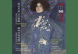 Christiane/thomas Christ Oelze - BRUCKNER/MAHLER: SYMPHONIES  - (CD)