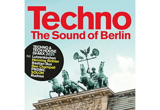 VARIOUS - TECHNO- THE SOUND OF BERLIN 2021  - (CD)