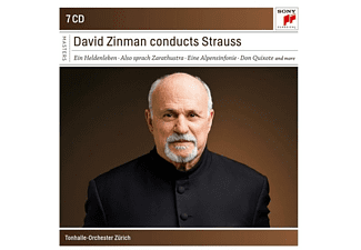 David / Ton Halle-orchester Zurich Zinman - RICHARD STRAUSS: ORCHESTRAL WORKS  - (CD)