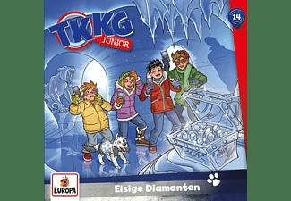 Tkkg Junior - 014/Eisige Diamanten  - (CD)