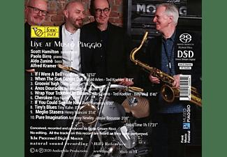 Scott Hamilton, Paolo Birro, Aldo Zunino, Alfred Kramer - Live At Museo Piaggio (Natural Sound Recording)  - (SACD Hybrid)