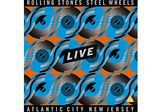 The Rolling Stones - STEEL WHEELS LIVE ATLANTIC CITY 1989 [DVD]