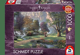 SCHMIDT SPIELE (UE) Weg des Glaubens 1000 Teile Puzzle Mehrfarbig