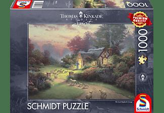 SCHMIDT SPIELE (UE) Cottage des guten Hirten 1000 Teile Puzzle Mehrfarbig