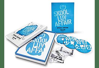 BTS - Skool Luv Affair: Special Addition - 1 CD + 2 DVD + Photo Book de 114 páginas + Photo card