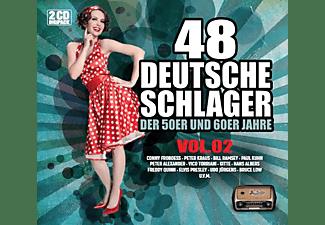 VARIOUS - 48 Deutsche Schlager Vol.2 [CD]