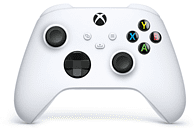 Mando inalámbrico - Microsoft Xbox One Controller Wireless QAS-00002, Para Xbox One Series X/S, Robot, Blanco