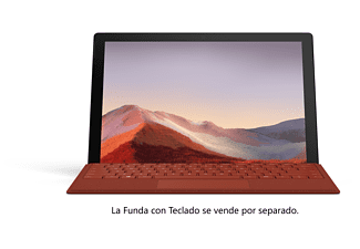 "Convertible 2 en 1 - Microsoft Surface Pro 7, 12.3"", Intel® Core™ i7 1065G7, 16 GB, 256 GB SSD, W10, Plata"