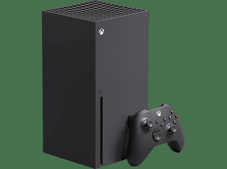 MICROSOFT Xbox Series X 1 TB Spielekonsole, Schwarz