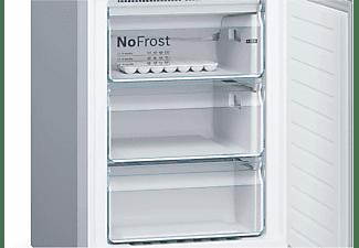 Frigorífico combi- Bosch KVN39IUEC, 279 l, No Frost, 203 cm, 39 db, Turquesa