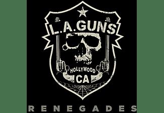 The L.a.guns - RENEGADES (LIM RED TRANSPARENT VINYL)  - (Vinyl)