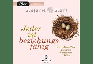 Stefanie Stahl - Jeder ist beziehungsfähig  - (MP3-CD)