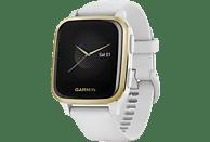 GARMIN Smartwatch Venu Sq, Weiß/Weißgold (010-02427-11)