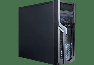 CAPTIVA I56-068, Gaming PC mit Core i5 Prozessor, 8 GB RAM, 480 GB SSD, 1 TB HDD, GTX 1650 4GB GDDR6, 4 GB