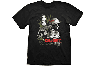 """Call of Duty: Cold War T-Shirt """"Army Comp"""" Black L"""