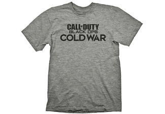 "Call of Duty: Cold War T-Shirt ""Logo"" Grey Melange XL"
