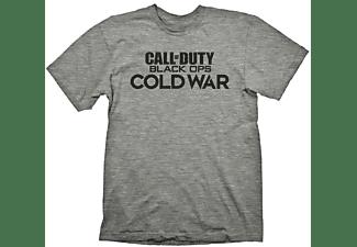 "Call of Duty: Cold War T-Shirt ""Logo"" Grey Melange XXL"