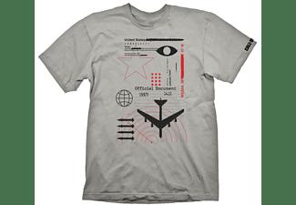 """Call of Duty: Cold War T-Shirt """"Radar"""" Light Grey XL"""
