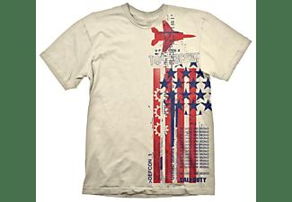"""Call of Duty: Cold War T-Shirt """"Top Secret"""" Creme XL"""