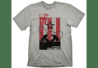 """Call of Duty: Cold War T-Shirt """"Wall"""" Light Grey XXL"""