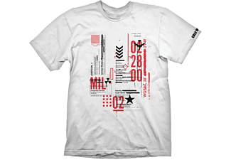 """Call of Duty: Cold War T-Shirt """"Defcon-1"""" White L"""