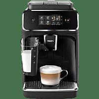 PHILIPS Serie 2200 Kaffeevollautomat EP2231/40 mit LatteGo Milchsystem, schwarz