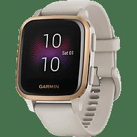 GARMIN Smartwatch Venu Sq Music, Beige/Rosegold (010-02426-11)
