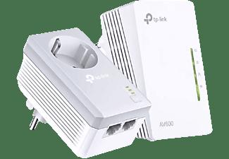 TP-LINK AV600 Powerline Extender Kit mit Steckdose, weiß (TL-WPA4226KIT)