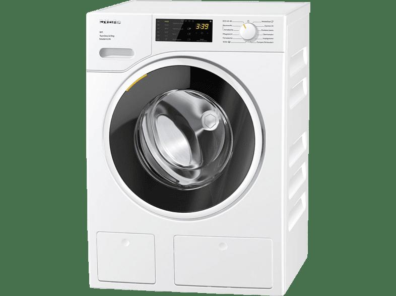 MIELE WWD660 WCS TDos & 8kg W1 White Edition Waschmaschine (8 kg, 1400 U/Min., A+++)