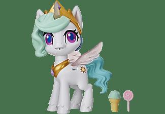 HASBRO My Little Pony Küsschen Einhorn Prinzessin Celestia Spielfigur Weiß