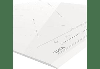 Encimera - Teka IZC 63632 MST WH, Eléctrica, Inducción, 3 zonas, Diámetro máx. 32 cm, Blanco