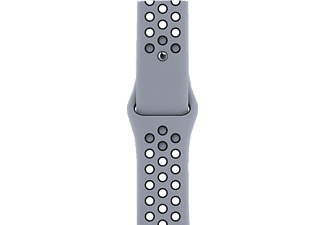 APPLE 44 mm Nike Sport, Ersatzarmband, Apple, Obsidian Mist/Schwarz
