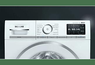 Lavadora carga frontal - Siemens WM16XKH1ES, 10 kg, 1600 rpm, 12 programas, i-DOS, Blanco