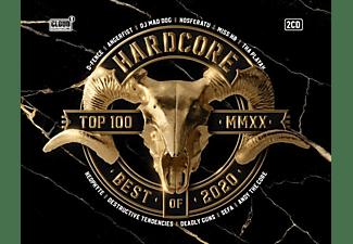 VARIOUS - Hardcore Top 100 Best Of 2020  - (CD)