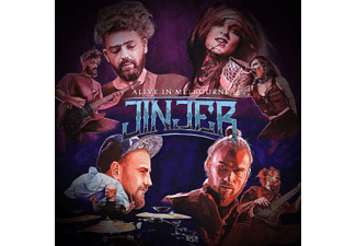 Jinjer - ALIVE IN MELBOURNE 2020  - (CD)