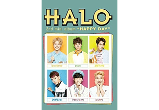 Halo - HAPPY DAY(KEIN RR)  - (CD-Mini-Album)