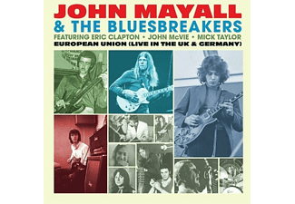 John Mayall & The Bluesbreakers - EUROPEAN UNION (LIM.180 GR.LIGHT BLUE)  - (Vinyl)