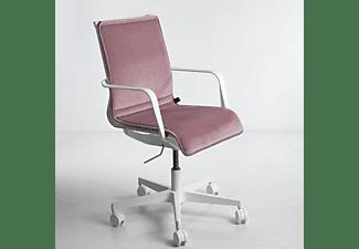 WRK21 Sitzkissen aus Samt passend zu 3D-Chair Design Sitzauflage, Rosa
