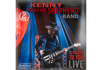 The Kenny Wayne Shepherd Band - STRAIGHT TO YOU:LIVE  - (CD + DVD Video)