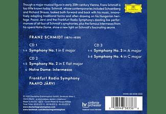 Paavo & Frankfurt Radio Symphony Järvi - Franz Schmidt: Complete Symphonies  - (CD)