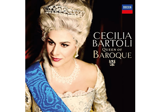 Cecilia Bartoli - QUEEN OF BAROQUE  - (CD)