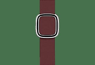 APPLE 40 mm Modernes Lederarmband, Ersatzarmband, Apple, Granat
