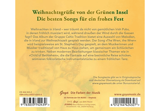 Celtic Tradition - Christmas is coming: Songs and Music from Ireland  - (CD)