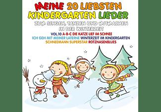 VARIOUS - Meine 20 Liebsten Kindergarten Lieder Vol.10-Zu  - (CD)