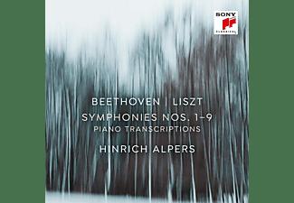 Hinrich Alpers - Sinfonien 1-9 (transkr.f. Klavier von Franz Liszt)  - (CD)