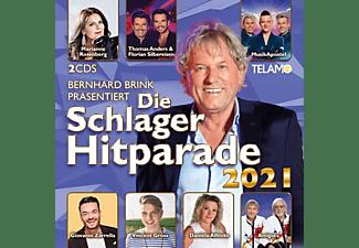 VARIOUS - BERNHARD BRINK PRÄS.:DIE SCHLAGER HITPARADE 2021  - (CD)